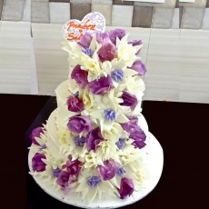 Wedding Cake  8 Kg - Butterscotch Cake