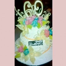 Wedding Cake  5kg - Butterscotch Cake