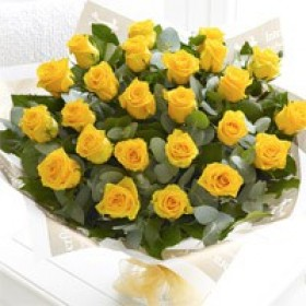 Yellow Roses Bunch