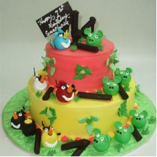 Angry Birds - 5kg Pineapple Cake