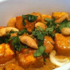 Cashew Paneer Curry