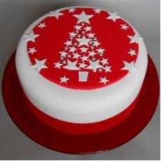 Merry Christmas - 1kg Milky Million Cake