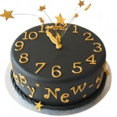 New Year Wishes - Chocolate Evasion Cake