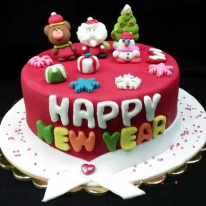 New Year Wishes - 1kg Milky Butterscotch