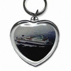 Photo Fix Key Chain - Heart Shape