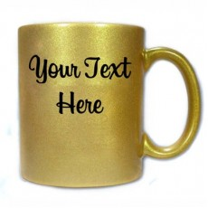 Photo Fix Cofee Mug - Gold Colour