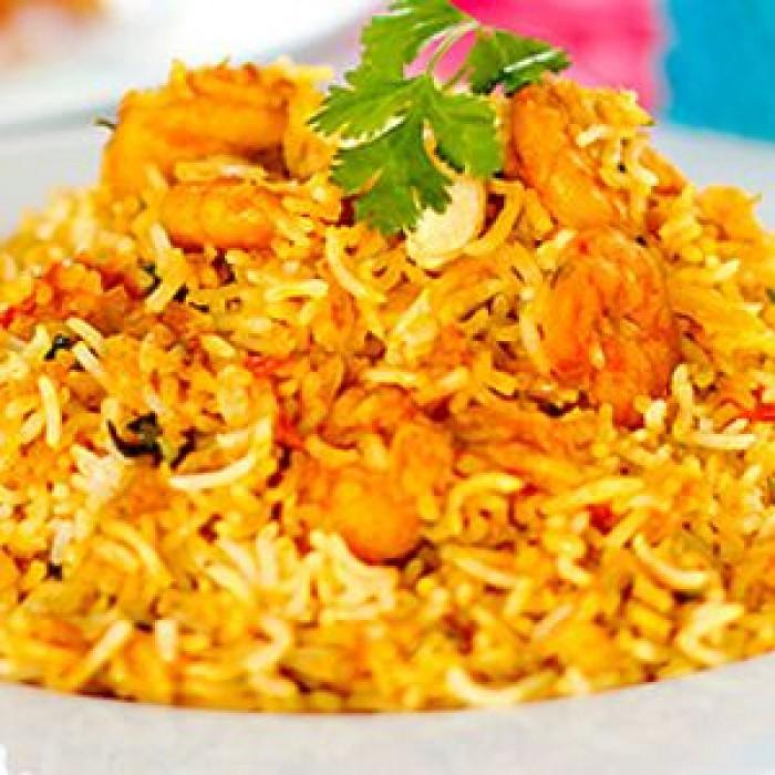 Order Online Prawns Biryani in Visakhapatnam | Hot Biryani in Vizag