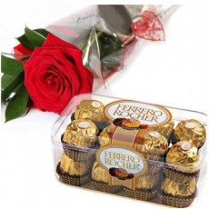 Rose & Ferrero Rocher 16pcs