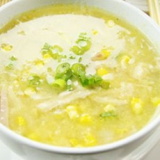 Sweet Corn Soup - Chicken