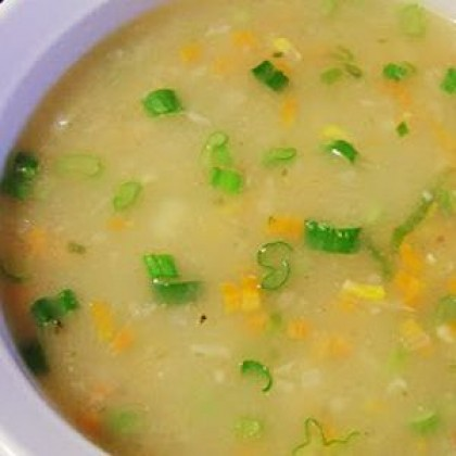 Sweet Corn Soup - Veg