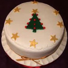 Christmas Tree - Chocolate Truffle Cake 1kg
