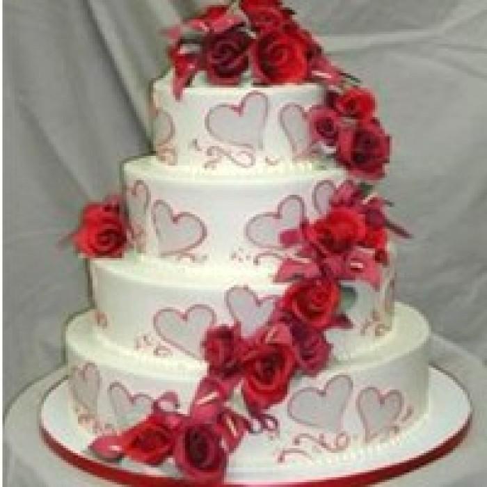 send wedding cake to vizag order online wedding cakes to visakhapatnam. Black Bedroom Furniture Sets. Home Design Ideas