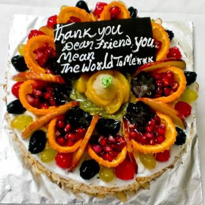 Send Fresh Fruit Cake On New Year And Christmas To Vizag Visakhapatnam