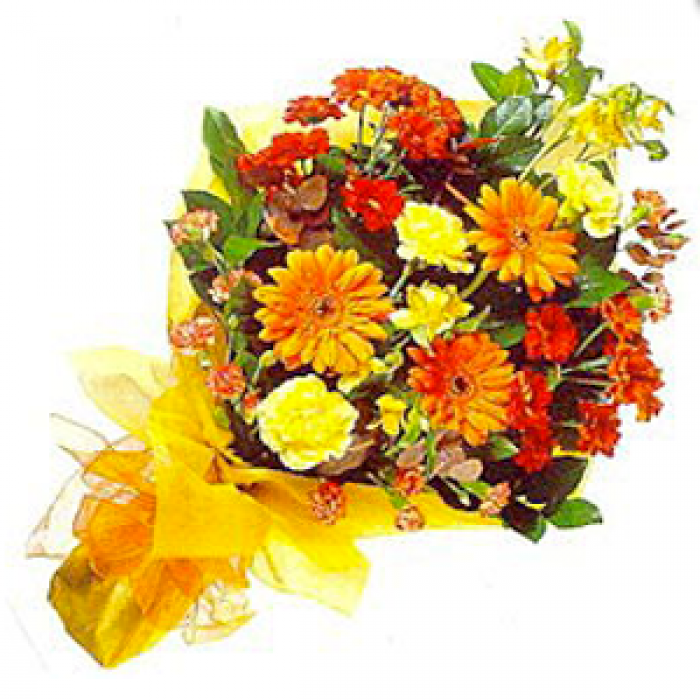 Send Online Mixed Flowers Bouquet in Vizag | Gift flowers in ...