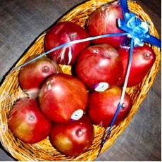 Basket of Red Pear